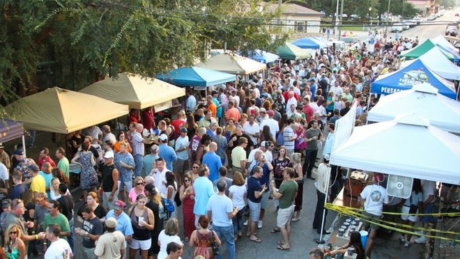 Expect Seville Quarter and Government Street to be packed for Friday's Grand Tasting at the Emerald Coast Beer Festival.