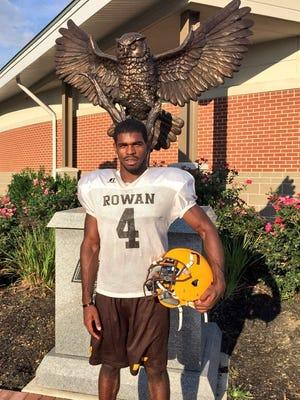 Camden native Eddie Davis is a senior cornerback for Rowan University.