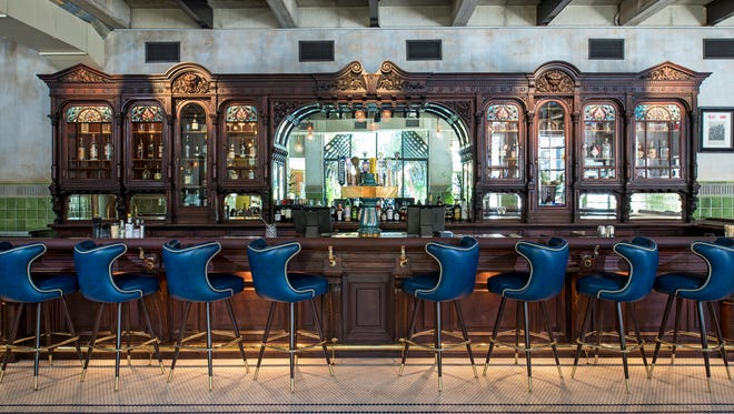 The historic New York City bar was stored in a climate-controlled warehouse for a decade, reassembled, refurbished, and now serves classic cocktails and local beer in Austin.