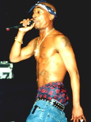 Tupac Shakur, circa 1990.