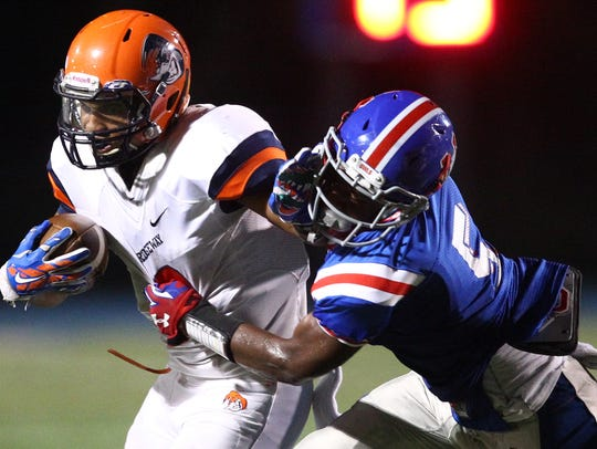MUS senior Maurice Hampton is committed to play football