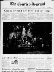 The May 7, 1977, edition of the Courier-Journal