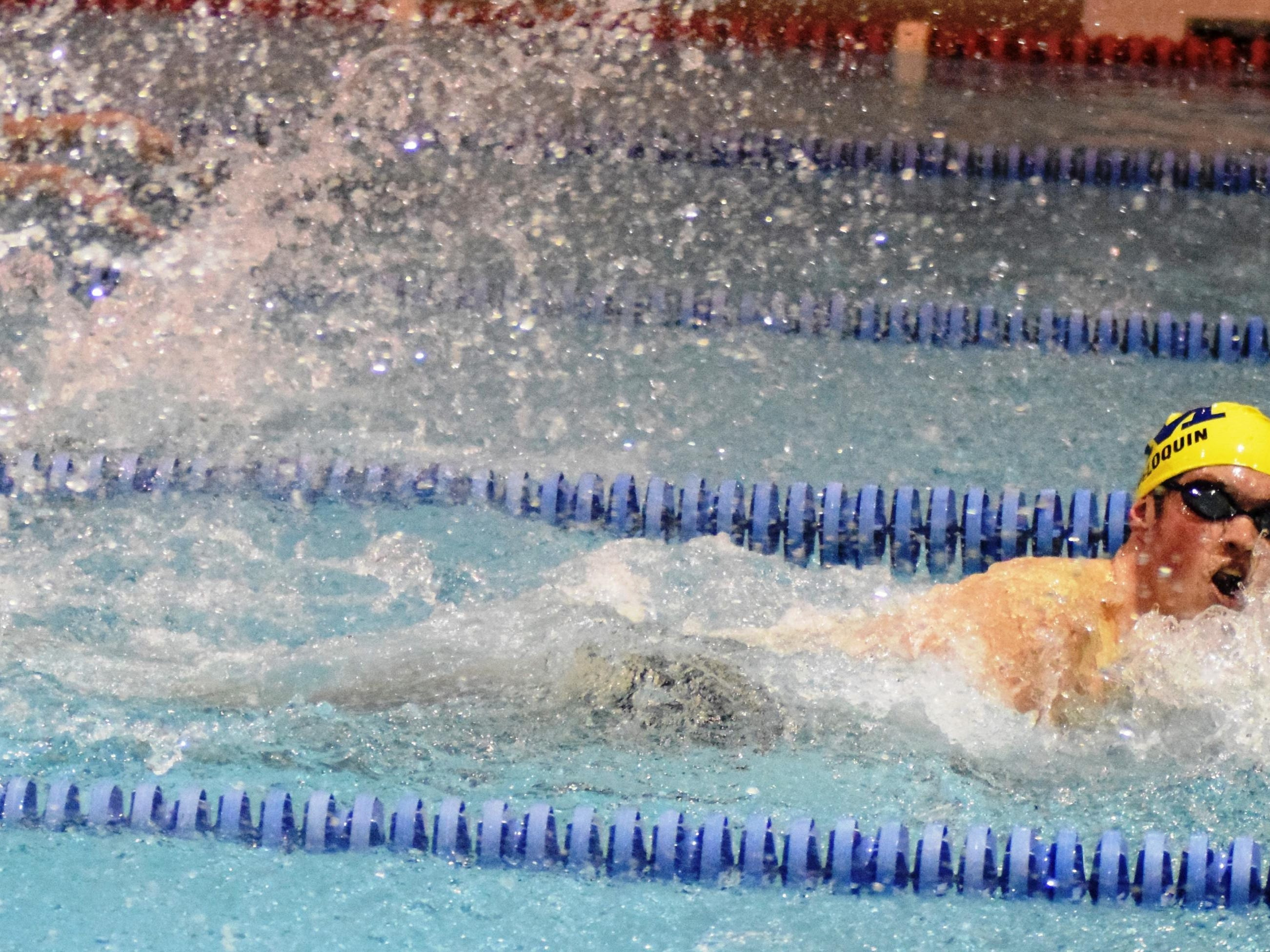 Moeller's Jacob Peloquin placed fifth in the state in the 100-yard butterfly and seventh in the 100-yard backstroke last season.