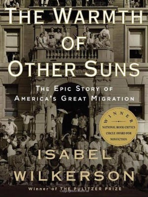 Isabel Wilkerson's work tells about The Great Migration, when millions of blacks moved from the South to urban centers in the north and west - including York County.