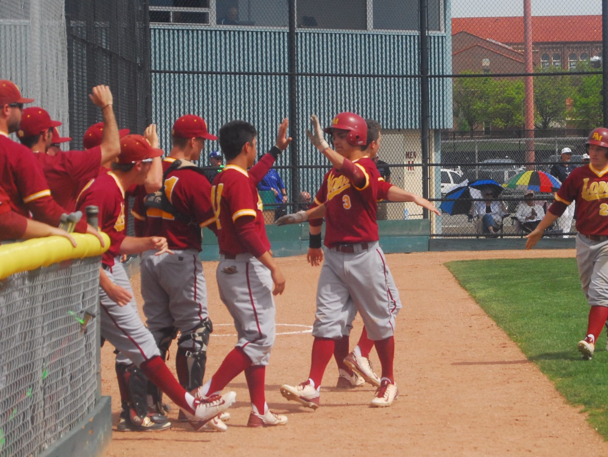 Rocky Mountain beat Mullen 5-1 in the opening game of the Class 5A playoffs.