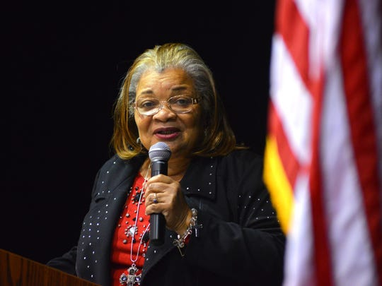 Alveda King, the niece of  Martin Luther King Jr., recently was the guest speaker at the Eastern Florida State College Titusville campus. She will join Dinesha D'Souza at the Vero Beach Prayer Breakfast March 22.