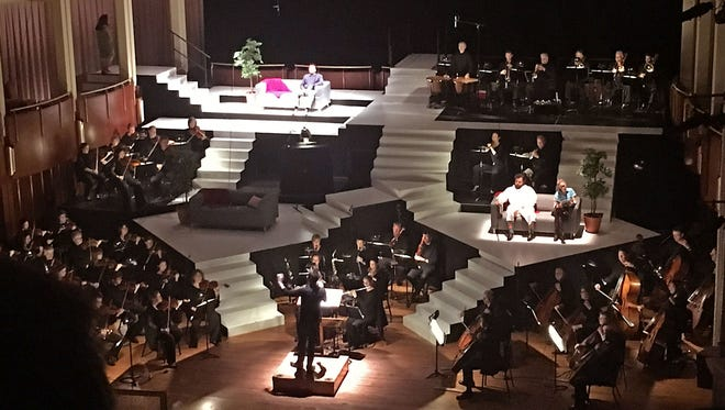 Tasteful Titles, a small business in Sioux Falls, has found its niche renting super-titles for symphony performances around the country.