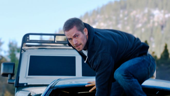 """Paul Walker did many of his own stunts in """"Furious 7."""""""