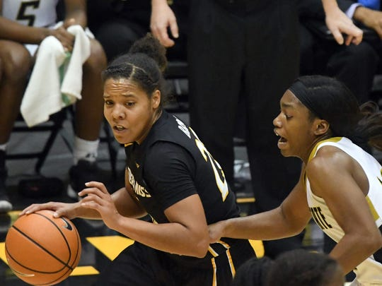 Southern Miss' Megan Brown and the Lady Eagles will open the Conference USA tournament at 11 a.m. Wednesday.