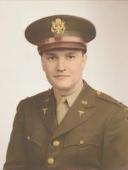 Jack Payton in uniform, circa 1944.