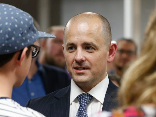 Former CIA Agent Evan McMullin Launches Presidential Campaign In Salt Lake City