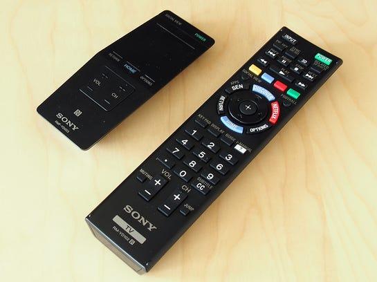 Sony-KDL55W950B-Remotes