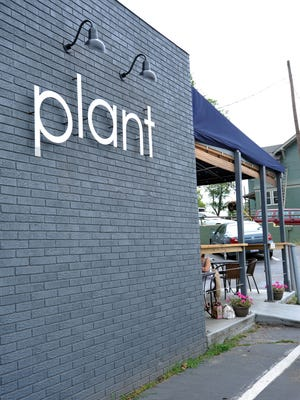 Plant is a vegetarian restaurant located on Merrimon Ave.