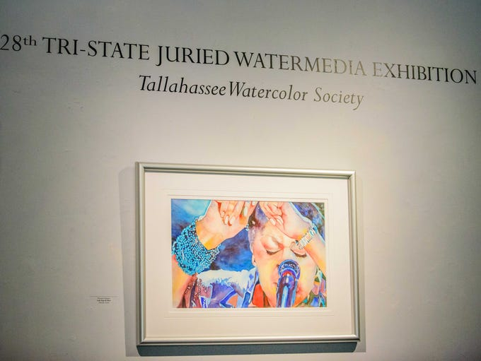 The 28th Watermedia Exhibition is on display at the
