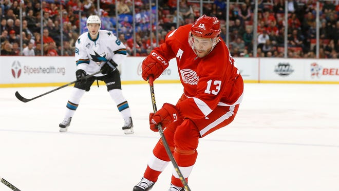 Detroit Red Wings' Pavel Datsyuk