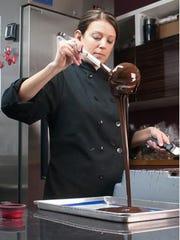 Washington Township native Melissa Craneley owns and operates Mecha Artisan Cholocate in a SoHa SMART studio.