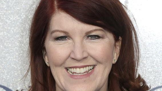 Actress Kate Flannery is turning 56.