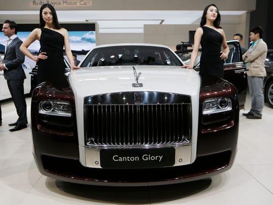 AP Britain Rolls Royce