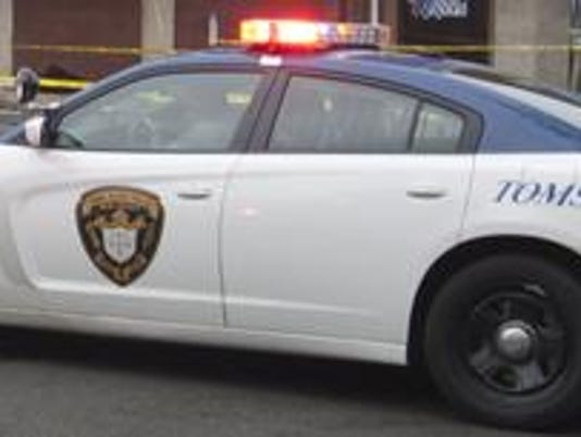 Toms River police car