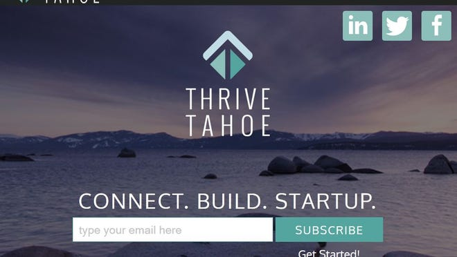 Screenshot of Thrive Tahoe's www.thrivetahoe.com