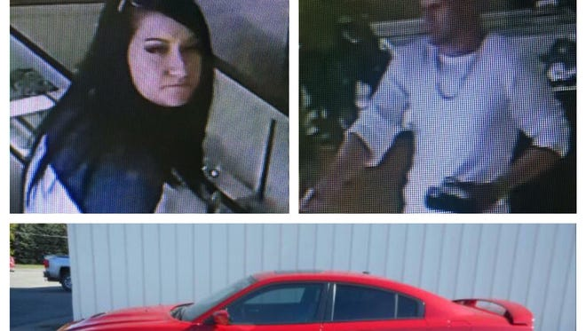 Police say this couple was involved in a jewelry store robbery on the coast and a triple homicide at a Jackson pawn shop.