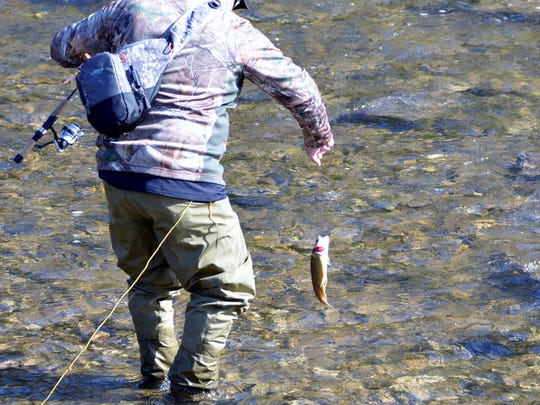 Rep. Martin Causer would like to have this angler join hunters in one state organization.