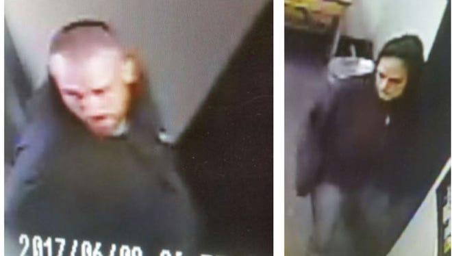 Santa Rosa County Sheriff's Office is seeking information on two suspects in a school burglary June 8.