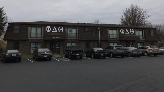 University of Southern Indiana has withdrawn recognition of the Indiana Lambda chapter of Phi Delta Theta, and the fraternity's general headquarters has removed the charter.