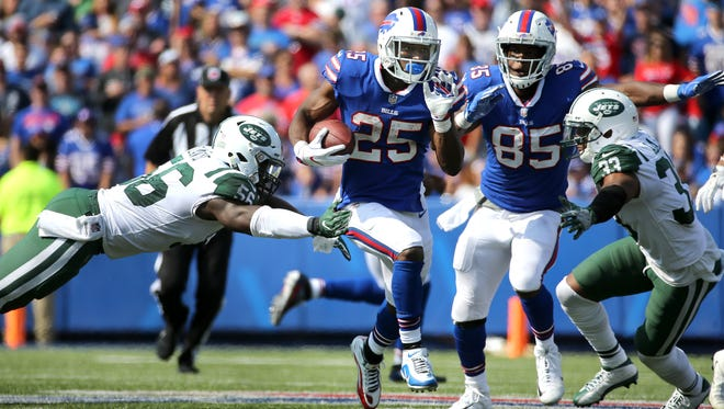 Bills running back LeSean McCoy ran for 111 yards in a 21-12 win over the Jets.