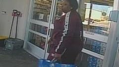Police provided this shot of a suspect recorded on surveillance video.