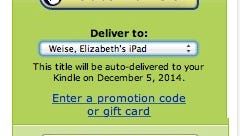 An example of the pre-order widget on Amazon.com's online bookstore, which is a tremendous driver of sales.