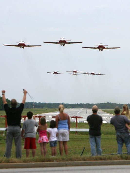 Anderson Airshow featuring Canadian Snowbirds