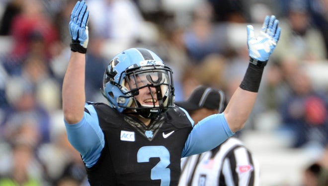 Ryan Switzer is one of 11 freshmen or sophomores who have accounted for the last 23  touchdowns by North Carolina.