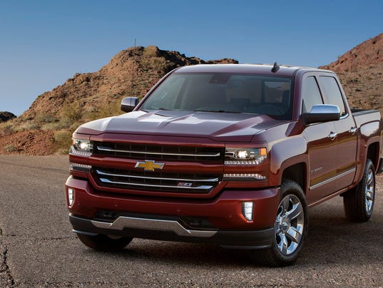 2016 chevy silverado muscular look new technology. Black Bedroom Furniture Sets. Home Design Ideas