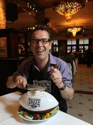 "Ted Allen, host of ""Chopped"" on the Food Network, headlines Fantastic Food Fest in January at Indiana State Fairgrounds."