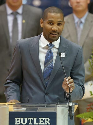 LaVall Jordan, formerly at Milwaukee, is Butler's next head coach.