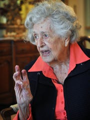 Dorothy Denman will turn 100 years old March 28th and family and friends from miles around will join her for a birthday party including a 98-year-old sister coming from Illinois.