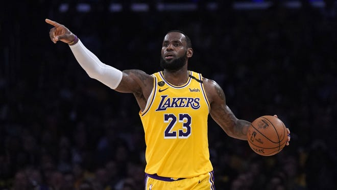 Led by LeBron James, the Los Angeles Lakers are big favorites to win the NBA title when the season resumes later this summer.