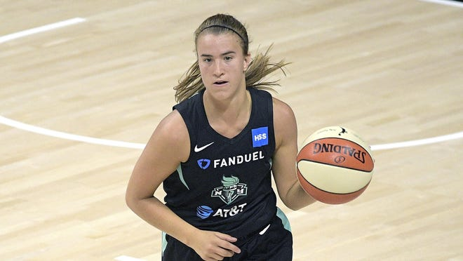 New York Liberty guard Sabrina Ionescu suffered a Grade 3 ankle sprain last week, the most severe ankle sprain injury one can suffer.