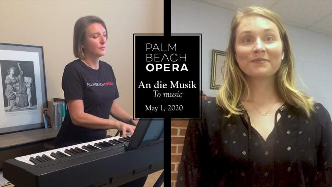 Mezzo-soprano Jenny Anne Flory and accompanist Ksenia Leletkina perform George Frideric Handel's 'Ombra mai fu' in one of the free videos the company is offering social service organizations and assisted living facilities.