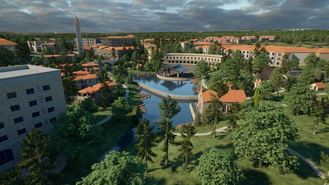 Rendition of Wolf Lakes Village