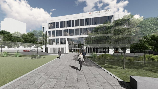 Schlosser Development Corporation has redesigned its 1111 West Sixth project. Law firm McGinnis Lochridge will remain the lead tenant, but will be in a south building on the site instead of a new north building that is planne