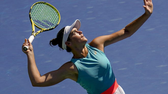 Jennifer Brady, who led UCLA to an NCAA tennis title, advanced at the U.S. Open tennis championships in New York.