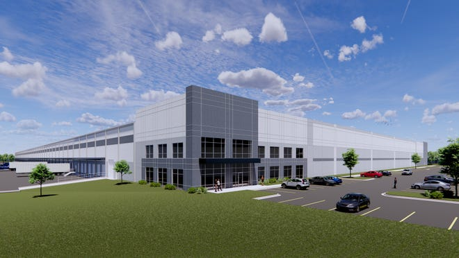 Construction has begun on a spec building that will be finished in May.