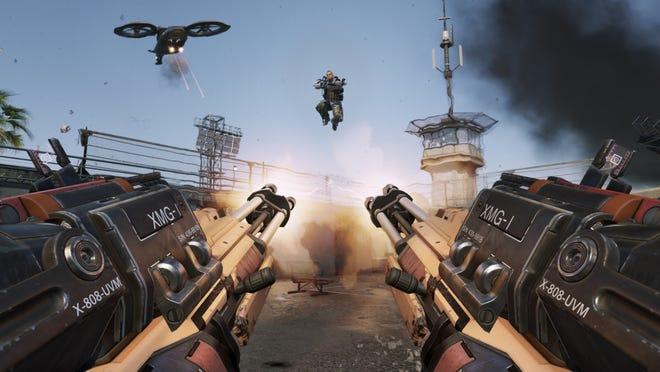 A scene from Call of Duty: Advanced Warfare.