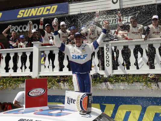 NASCAR Pocono xfinity Auto Racing