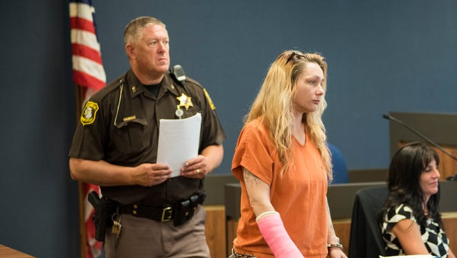 Theresa Marie Gafken's trial for second degree murder has been adjourned until a later date.