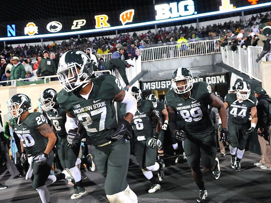 MSU's Kurtis Drummond and Shilique Calhoun take the