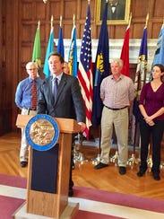 Gov. Steve Bullock urges Montanans on Thursday to be