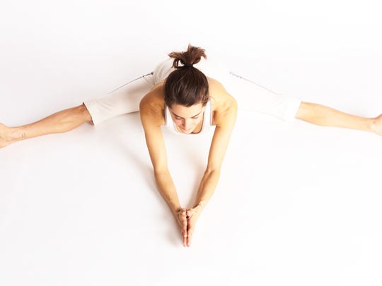 """Elena Brower says her yoga practice """"is more about"""